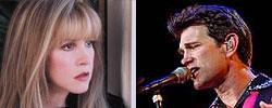 Stevie Nicks and Chris Isaak