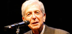 Leonard Cohen Added More Shows To World Tour